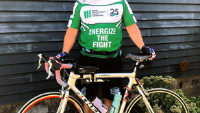 Michael Stewart cycles for Mito Awareness Cycling for Mito Awareness