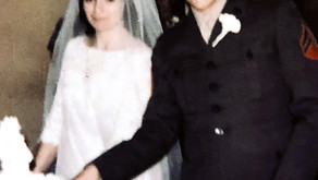 Just Married . . . 50 years ago!!!