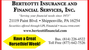 Sponsor: Berteotti Insurance and Financial Services, Inc.