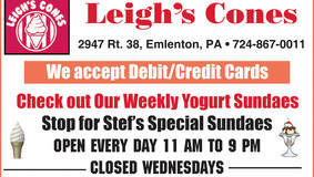 Leigh's Cones - Check Out Our Yogurt Sundaes!