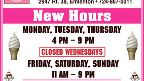 Leigh's Cones - New Hours