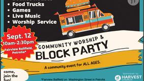 Harvest Church Community Worship & Block Party