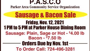 P.A.S.C.O. - Sausage & Bacon Sale
