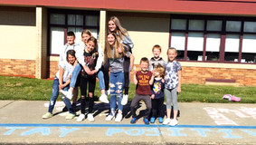 Karns City Inspiring Gremlins Team Up With Elementary Students to Spread Kindness