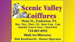Scenic Valley Coiffures
