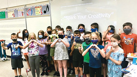 """ARCA Commissions """"SPARK  YOUR CREATIVITY"""" Educational Video for Allegheny-Clarion Valley Schools"""