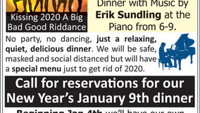 Allegheny Grille - Delayed New Year's Eve Dinner with Erik Sundling at the Piano