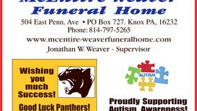Keystone H.S. Football - Sponsor