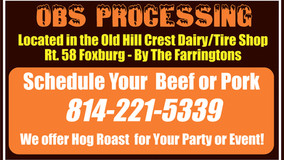 OBS Processing - Cut, Wrap and Frozen - Schedule Today