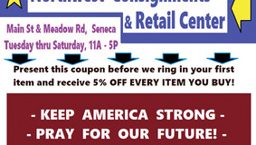 Northwest Consignments - 5% off coupon