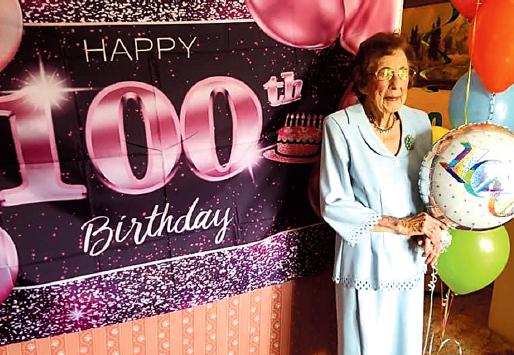 Icle Scott Celebrates Her 100th Birthday