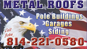 English Amish Built Metal Roofs