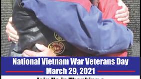 National Vietnam War Memorial Day - March 29