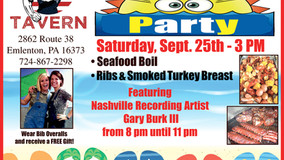 Blue Collar Tavern - End of Summer Party - Sept. 25th