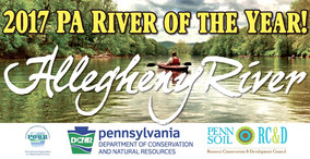 Allegheny River - PA's 2017 River of the Year!
