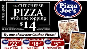Pizza Joe's  - Chicora - Monthly Specials