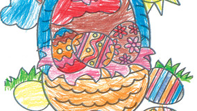Easter Coloring Contest Winners Announced