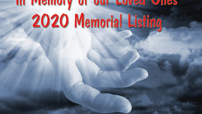 In Memory of Our Loved Ones Who Were Laid to Eternal Rest in 2020