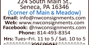 Northwest Consignments - September/October Coupon - We Have Expanded Our Sales Floor