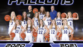 2021 ACV Lady Falcons Basketball Roster