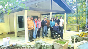 AK Steel Employee & Miltary  Veteran Receives Home Re-Build Project
