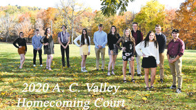 A-C Valley Homecomeing Court for 2020