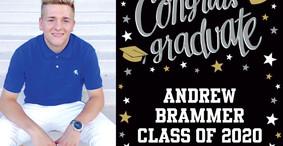 Andrew Brammer Graduates from Milton Hershey School