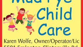 Mud Pye Child Care Has Openings