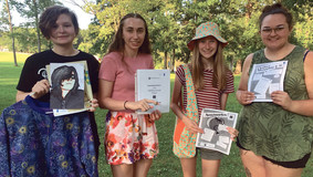 Emlenton Echoes 4-H Club Participating in the Venango County Fair