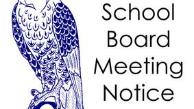 Legal Notice - ACV School Boad Meetings