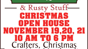 Farmhouse Antiques and Rusty Stuff - Christmas Open House