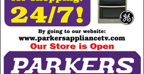Parkers Appliance - Open 24/7