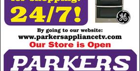 Parkers Appliance - Open 24/7
