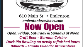 Emlenton Brew Haus - Now Open -  Have a Great School Year