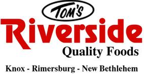 Tom's Riverside - 3 Locations
