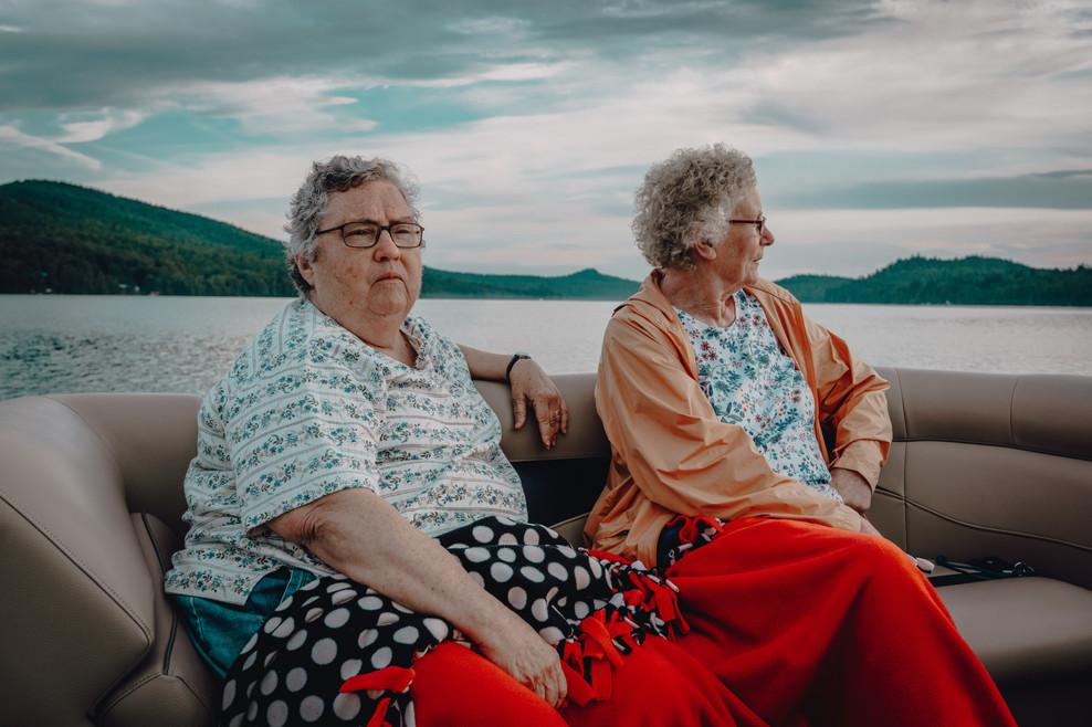 nuns on a boat