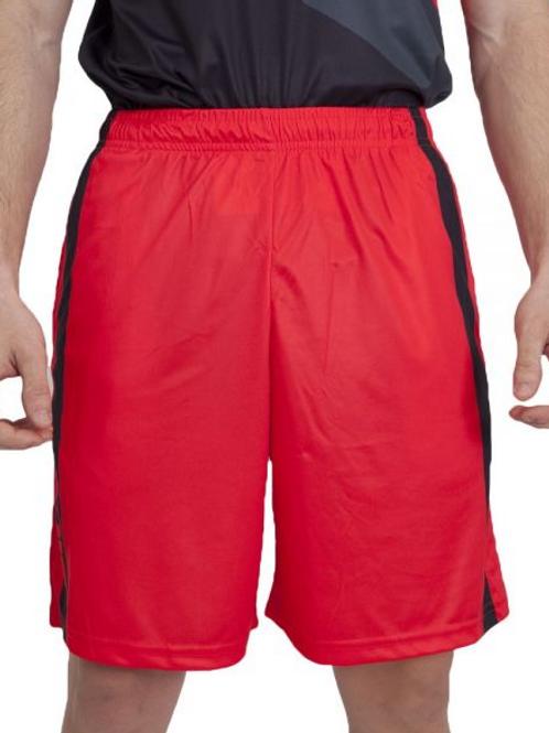 Pantalon Corto Siux Twister Rojo/Negro