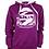 Thumbnail: Sudadera Belice Mujer Violeta Oscuro