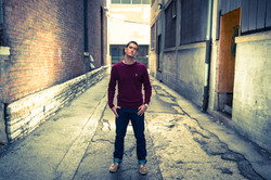 Senior Photo Indianapolis Alley