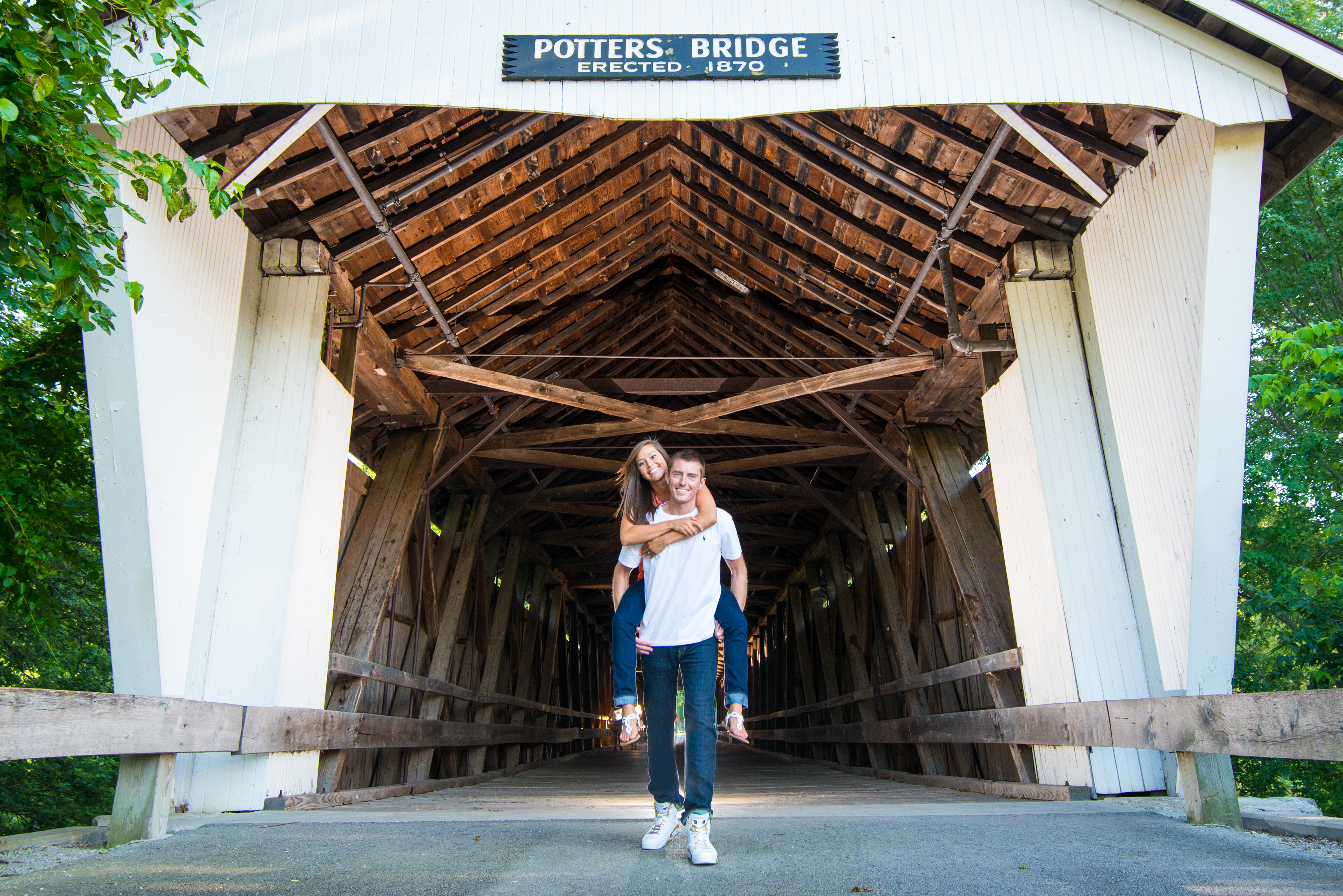 Potters Bridge Engagement photo