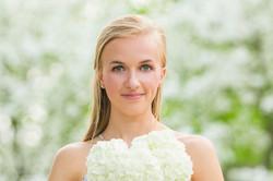 Senior Photo Flowers