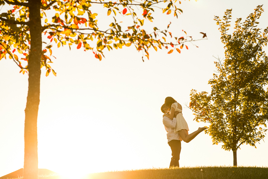 Coxhall Gardens Engagement Photo