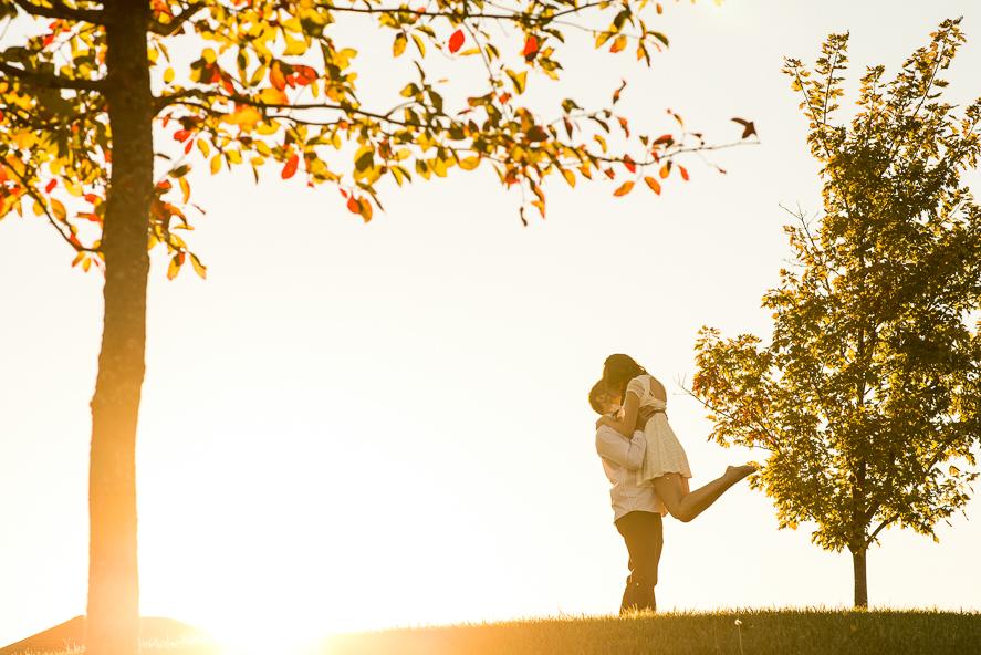 Coxhall Gardens Engagement Photo