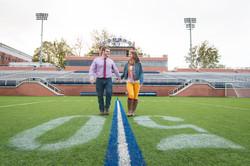 Butler University Engagement Photo