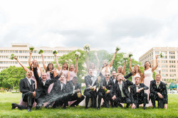 War Memorial Wedding Photo
