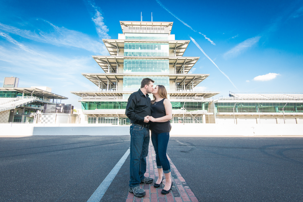 Indiana Motor speedway Engagement