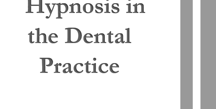 Hypnosis in the Dental Practice  4 units