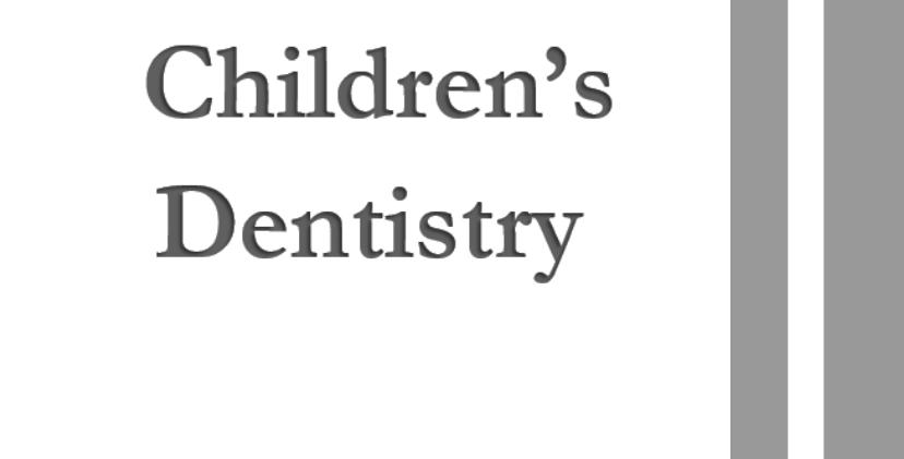 Children's Dentistry  8 units