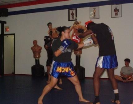 Training w/ Anthony Njokuani