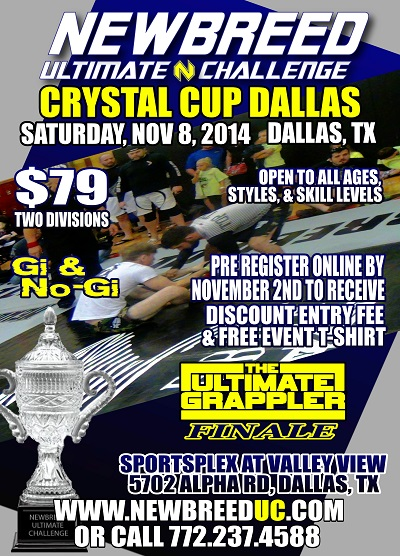 Newbreed Crystal Cup- Dallas, TX